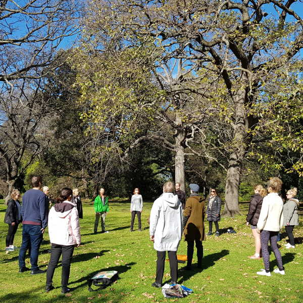 Forest Therapy at Royal Botanic Gardens
